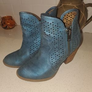 Not Rated Blue Boots